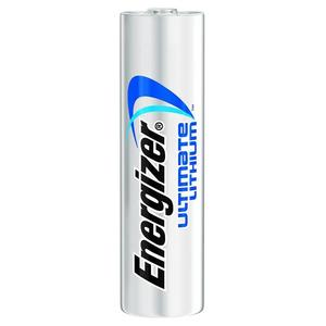 Energizer L91BP-2 Lithium Battery, AA, 1.5 Volt, 3000 mAh