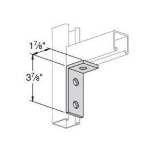 Power-Strut PS745-EG Three Hole Corner Angle