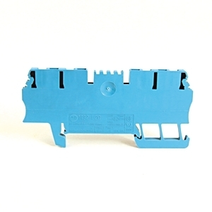 Allen-Bradley 1492-L2Q-B Terminal Block, 15A, 300V AC/DC, 2 Connection Side, Blue, 1.5mm