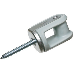 Arlington 616 Wireholder, Reinforced, Screw Type, Porcelain