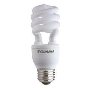 SYLVANIA CF13EL/MINI/841 Compact Fluorescent Lamp, Mini-Twister, 13W, 4100K