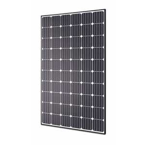 Hyundai HIS-S280RG(BK) 280 Watt Mono, 60 Cell, Black Back Sheet, Black Frame