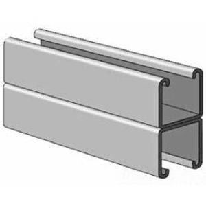 """Power-Strut PS200-2T3-20PG Channel - Back To Back, Steel, Pre-Galvanized, 1-5/8"""" x 3-1/4"""" x 20'"""