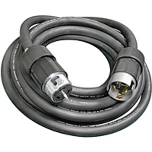 Ericson 63DSO Cordset, Type SO, 6/3-8/1 AWG, 50A, 125/250V, 100' Cord