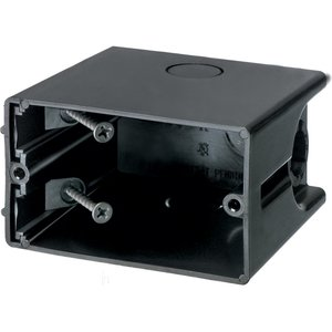 "Arlington F101H Switch/Outlet Box, 1-Gang, Depth: 3-1/2"", Non-Metallic"