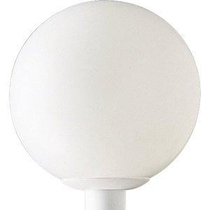 Progress Lighting P5426-60 Globe, Outdoor, 1 Light, 100W, White