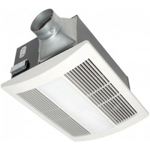 Panasonic FV-11VHL2 Heater/Fan/Light, 1400W, 110 CFM