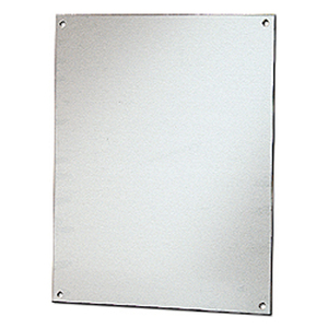 "Stahlin BP1210AL Panel For Enclosure, 12"" x 10"", Diamond Shield Series, Aluminum"