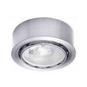 WAC Lighting HR-86-BN Button Light, Xenon, 20W, 12V, Brushed Nickel