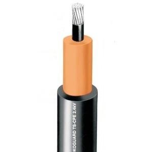 Okonite 114-24-2231 MV-90 Power Cable, 4/0 AWG, 2.4 kV, Nonshielded