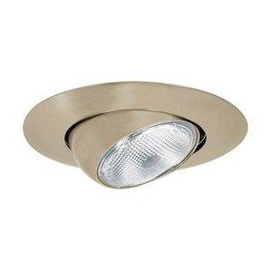 "Elite Lighting B602SN Eyeball Trim, 6"", Satin Nickel"