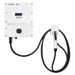 SolarEdge SE7600H-US000NNV2 PV Inverter, 1-Phase, 7.6kW,  240V