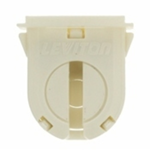 Leviton 23662-OSL Fluorescent Lampholder, Miniature Base, Turn Type w/ Lock, Bi-Pin
