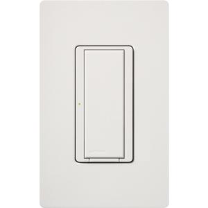 Lutron MRF2-8ANS-120-WH Wireless Switch, 3/6A, Digital, Maestro, White