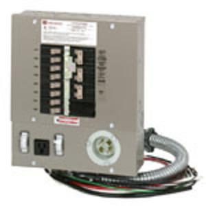 Eaton CH10EGEN3060 Emergency Generator Panel, 30A, 7.5kW, 10 Circuit, NEMA 1