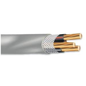 Multiple SEU668500RL Service Entrance Cable, SEU, CU, 6/2, 8 AWG Ground, Copper, 500'