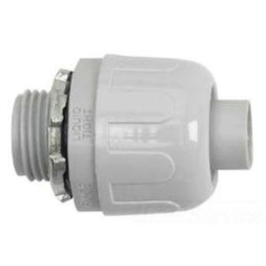 "Halex 76205B 1/2"" Straight Quick Set Liquidtight Connector"