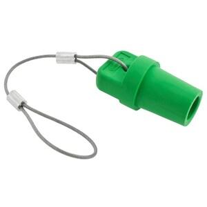 Hubbell-Wiring Kellems HBLMCAPGN SINGLEPOLE, MALE CAP,