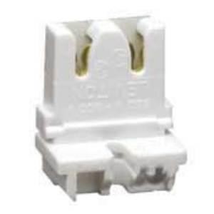 Leviton 13451-20 Fluorescent Lampholder, Medium Base, White