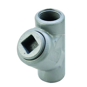 "Appleton EYS2 Sealing Fitting, Vertical, 3/4"", Explosionproof, Malleable Iron"