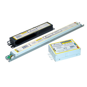 Philips Advance IEZ2S24D35M Electronic Dimming Ballast, Fluorescent, 2-Lamp, 24W, 120-277V