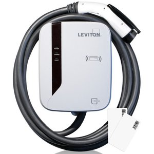 Leviton EVR30-R25 EV Charging Station with RFID technology