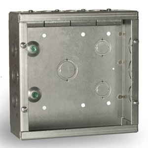 "Hubbell-Raco SC080803STRC Grand Slam Junction Box, 8"" x 8"""
