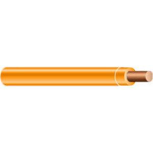 Multiple THHN10SOLORN500RL 10 AWG THHN Solid Copper, Orange, 500'