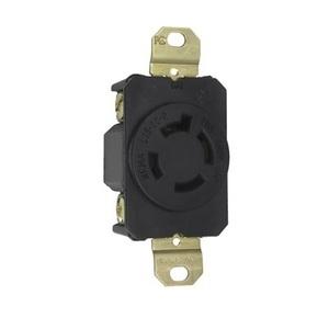 Pass & Seymour L1620-R Locking Receptacle, 20A, 3PH 480 Volt, L16-20R, 3P4W