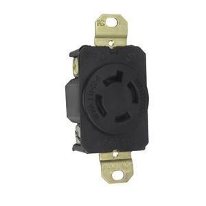 Pass & Seymour L1420-R Locking Receptacle, 20A, 125/250V, L14-20R, 3P4W