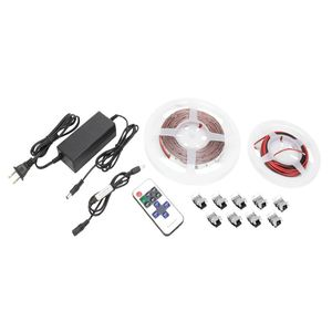 American Lighting HTL-RGBW-5MKIT Color Mixing LED Tape Light Kit, 16.4'