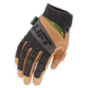 Lift Safety GTA-17KB1L Tacker Work Gloves - Size: X-Large, Brown