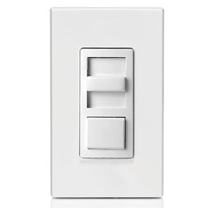 Leviton IPX06-70Z Slide Dimmer, Fluorescent, IllumaTech, White