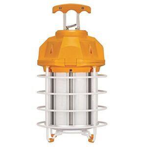 Satco S28946 LED Temporary Hi-Bay Caged Lamp, 100W, 10000L, 5000K, 120V