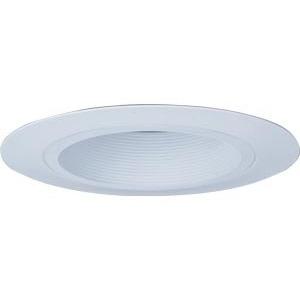 "Lithonia Lighting 6B1WTORR12 6"" White Baffle Vertical Wide Flange Reflector"