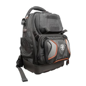 Klein 55485 Tradesman Pro Tool Master Backpack, 48 Pockets