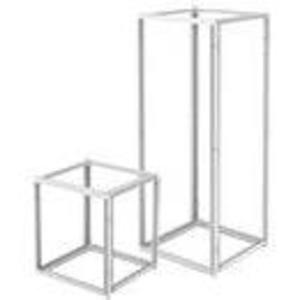 "Hoffman PF2086 Single-Bay Frame, 79"" x 32"" x 24"", Steel/Gray"