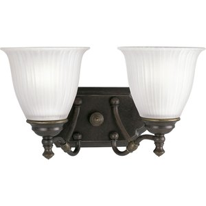 Progress Lighting P2730-77 Bath Brkt 2-100w Med