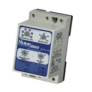 Symcom 460-MR Ind Relay 190 to 480VAC 50/60Hz