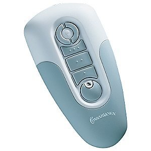 Casablanca Fan W-52 Adapt-Touch Remote Control, 3-Speed, White