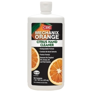 CRC SL1712 Citrus Hand Cleaner - 16oz Squeeze Bottle