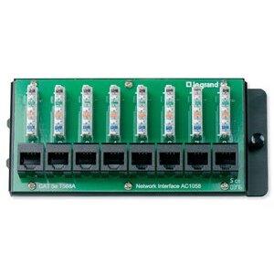ON-Q AC1058 Cat5 8-Port Data Module