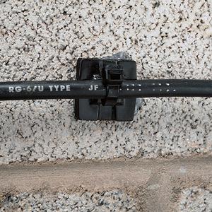 Panduit EMS-A-D Cable Tie Mount, Epoxy Applied, NAT