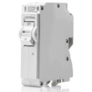 Leviton LB115-DF Branch Circuit Breaker, AFCI/GFCI 1-Pole 15A