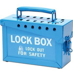 Brady 45190 13 Lock Group Lock Box - Blue