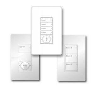 Cooper Lighting W4S-RL-W WaveLinx, 4 Button Small
