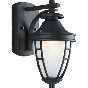 Progress Lighting P5775-31 Lantern, Outdoor, 1 Light, 75W, Black
