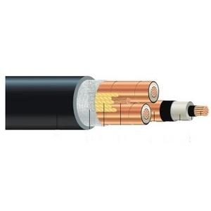 Southwire 95839799 MV-105 Cable, 500/3 Copper, 5kV, 100% Shielded, Black