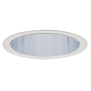 "Lightolier 2013 Cone Trim, 3-3/4"", Specular Clear"