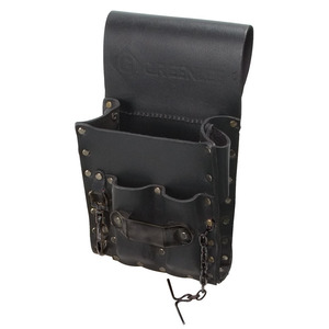 Greenlee 0258-13 Pouch, Leather 5 Pocket